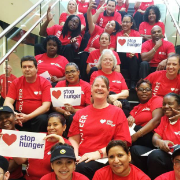 Sodexo Employees Celebrate 20 Years of Fighting Hunger in North America as 2016 Stop Hunger Servathon Concludes