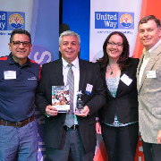 Sodexo Receives Outstanding Corporate Group Award from the United Way