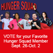Sodexo Stop Hunger Foundation Announces Online Hunger Squad Competition featuring the Five National 2016 Stephen J. Brady Scholars