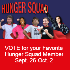 VOTE for your Favorite Hunger Squad Member