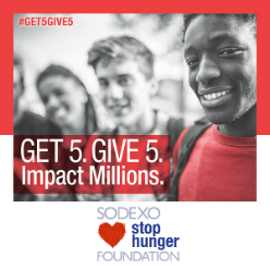 Sodexo Stop Hunger Foundation Opens Application Period for 2017 Stephen J. Brady Stop Hunger Scholarships