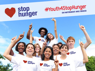 Young people committed to fight hunger: Stop Hunger supports you!