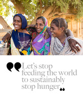 RED#1 The 2017 Stop Hunger Activity Report. A hunger-free world is possible!
